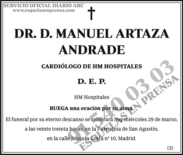 Manuel Artaza Andrade